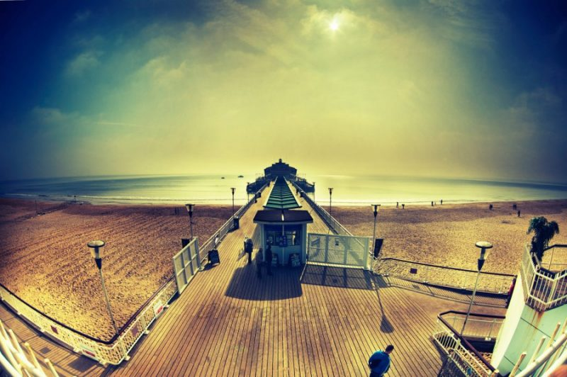 Bournemouth Pier in the Sun