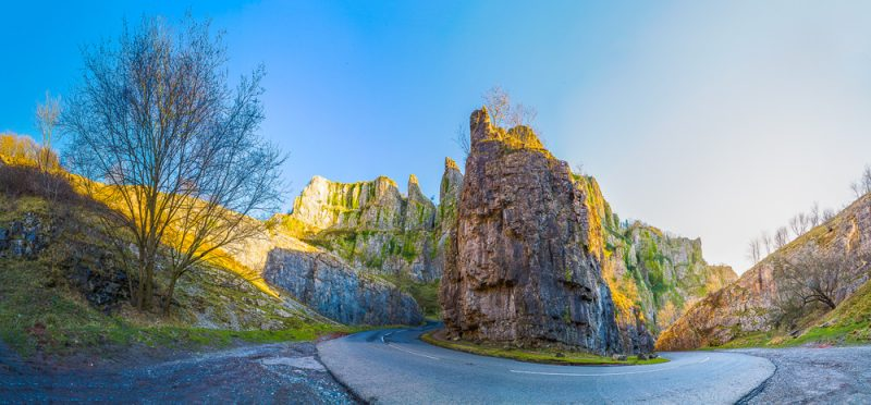 Chedder Gorge Panorama
