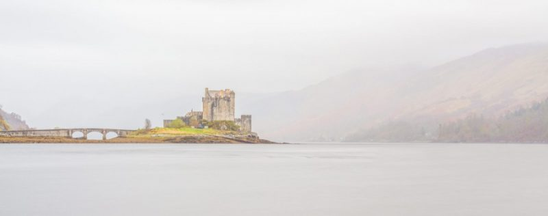 Eileen Donan in the Mist