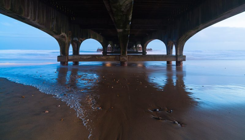 Under Bournemouth Pier