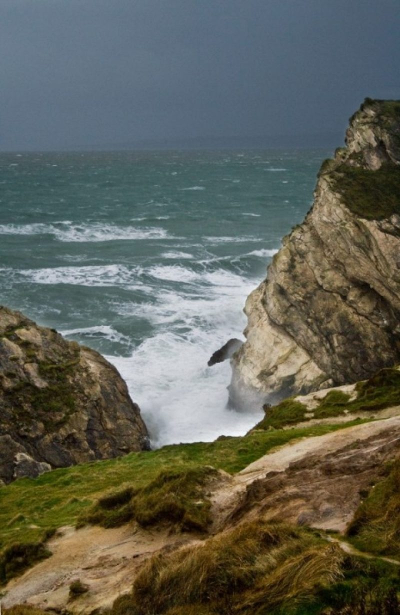 Stormy Seas at Lulworth